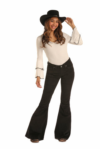 Rock & Roll Ladies Corduroy bell bottoms Jeans