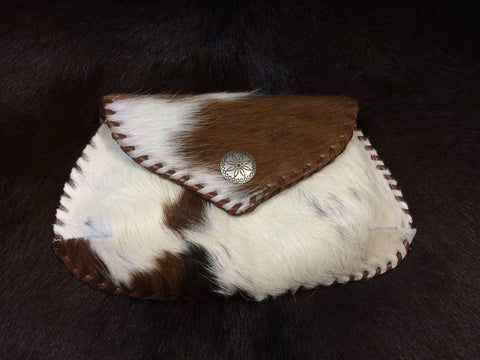Cowhide Small Cosmetic Case
