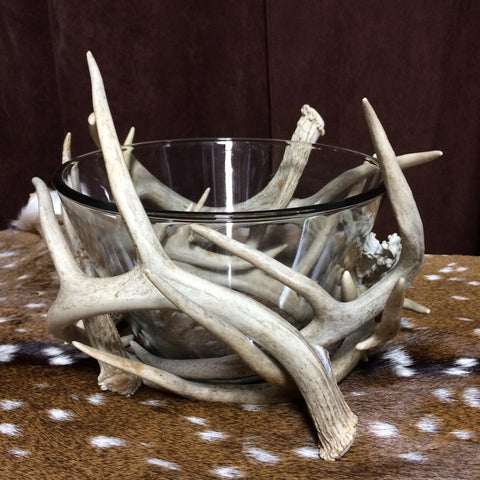 Whitetail Antler Bowl
