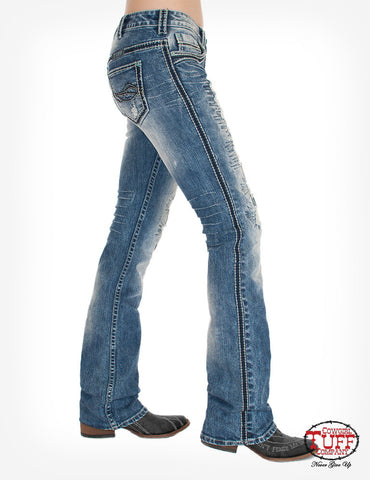Cowgirl Tuff Avalanche Bootcut Jeans