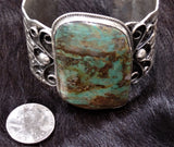 Chimney Butte Royston Turquoise Cuff Bracelet