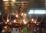 Elk Anlter 12 Light Chandelier