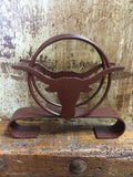 Rustic Star and Longhorn Napkin Holder