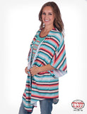 Serape Stripe Flowy-Lux Cover-Up
