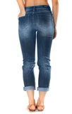 Grace in LA Women's Jelina Girlfriend High Rise Jean
