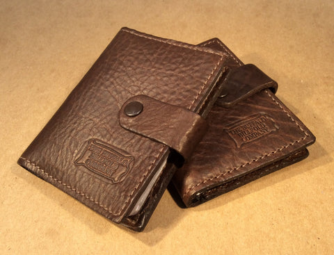 Buffalo Leather Extra Capacity Card Case