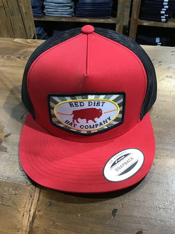 RED DIRT BEACH NUT PATCH HAT