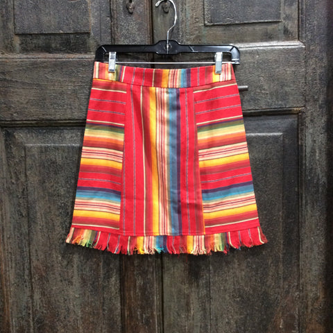 Serape Mini Skirt