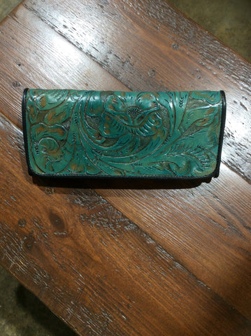 JUAN ANTONIO TOOLED WALLET