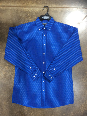 BOYS Panhandle LONG SLEEVE BUTTON UP SHIRT