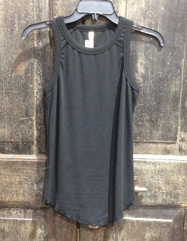 Simple Black Tank Top