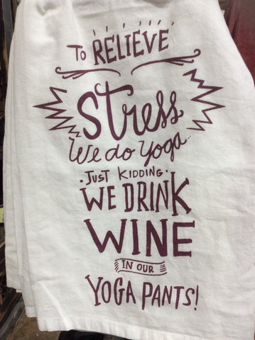 Dish Towel - Yoga Pants