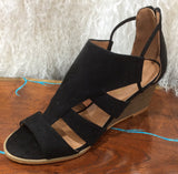 Black heeled Sandle