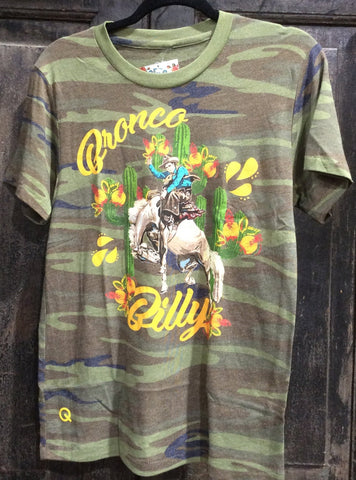 Bronco billy camo TEE