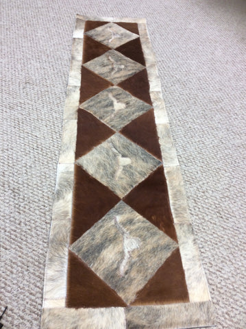 Cowhide Longhorn 5ft Table Runners