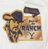 Meanwhile Back at the Ranch... Tee Shirt- round neck