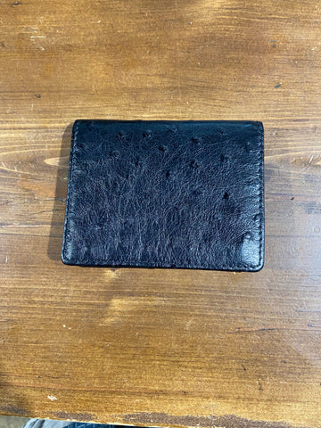 OSTRICH BIFOLD WALLET WITH ID SLOT