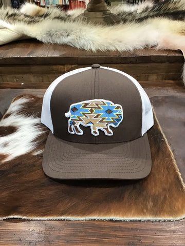 "Red Dirt Hat Company ""Jango brown white"""