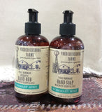 River Oaks Rosemary Mint Hand Soap & Antiseptic rub