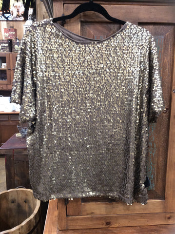 Sequin Box Top