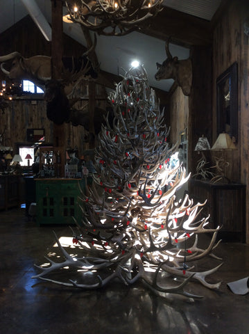 8 Foot Antler Christmas Tree