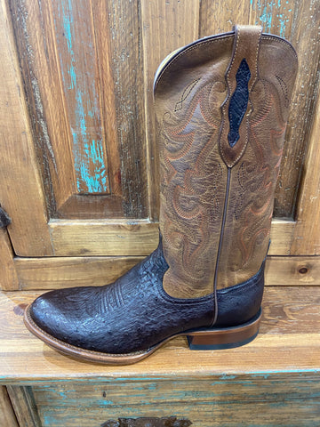 Tony lama patron chocolate men's boot