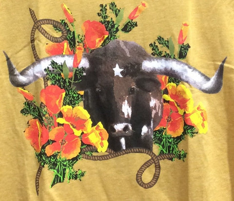 Poppy the Steer tee