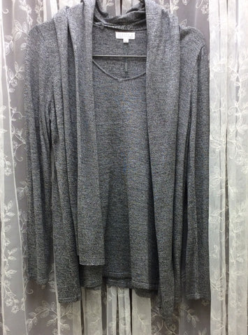 Grey Sweater with Detachable Scarf