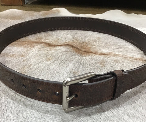 ARIAT BROWN WORK BELT