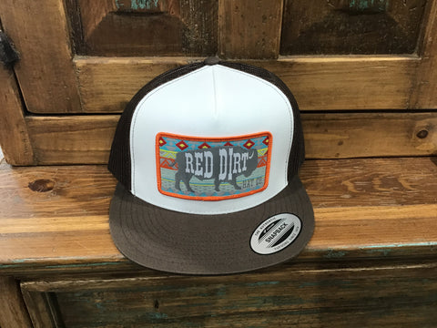 Red dirt Aztec hat