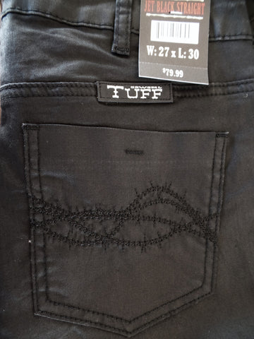 Cowgirl Tuff Jet Black Straight Stretch Jeans