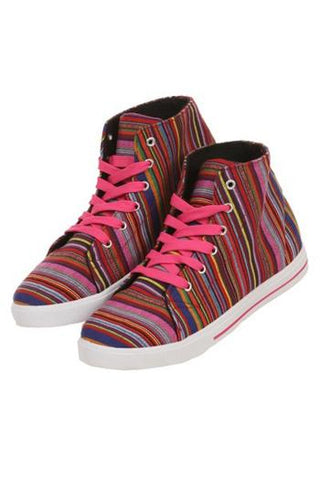 Kayla Serape High Top Shoes