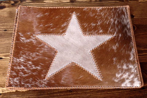 Cowhide Star Placemats Set of 4 – Yee