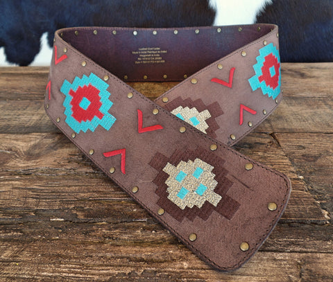 Noble Outfitters Aztec Wrap Belt