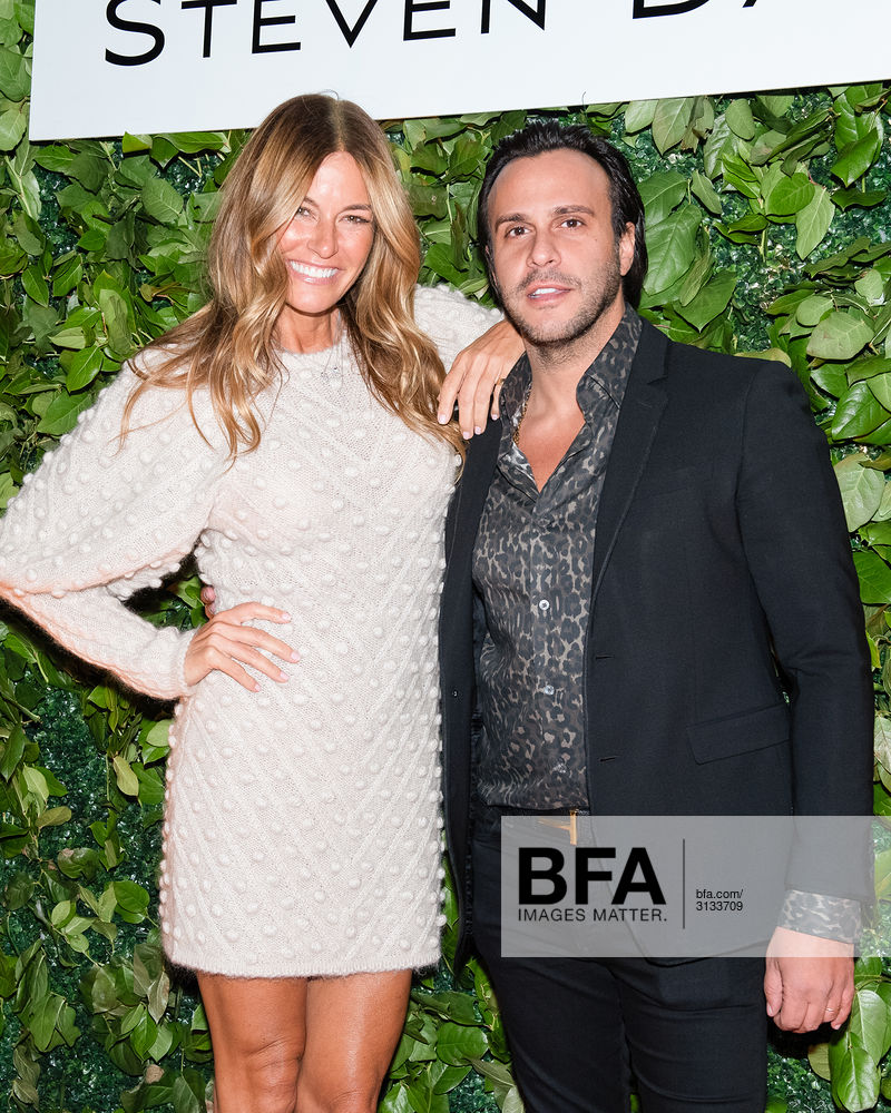 Steven Dann and Kelly Bensimon