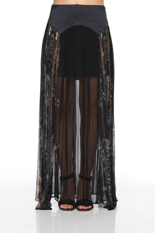 Camilla - Camilla Maxi Skirt w/ Shaped Yoke - Buy Online