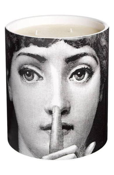 Fornasetti - Fornasetti Silenzio-'Otto' Large Candle - Buy Online