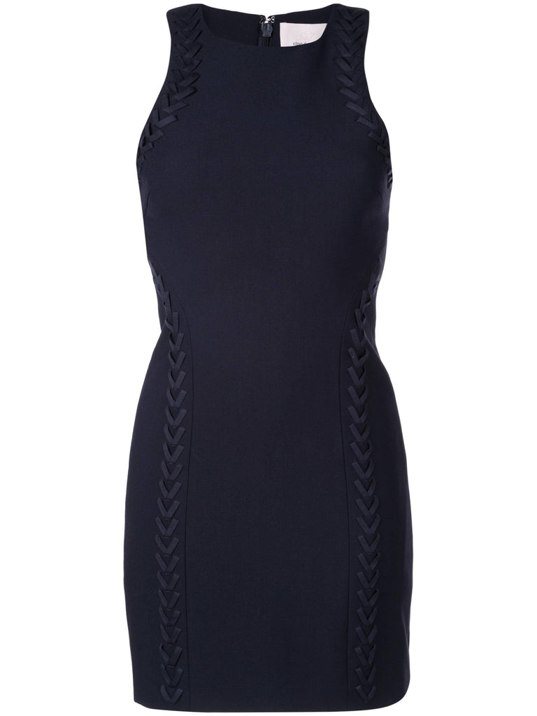 Cinq A Sept - Cinq á Sept Alison Sleeveless Briaded Racerback Mini Dress - Buy Online