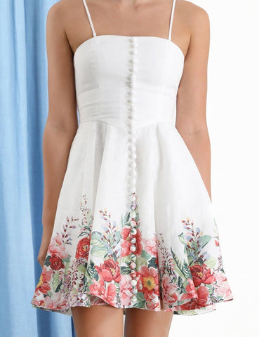 Zimmermann - Zimmermann Bellitude Bustier Short Dress - Buy Online