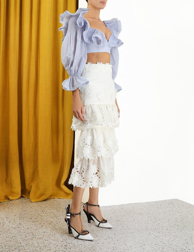 Zimmermann The Lovestruck Cropped Bodice