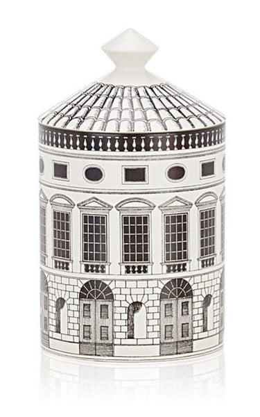 Fornasetti - Fornasetti Architettura Small Candle - Buy Online