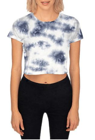 MRANDMRSDANN - MRANDMRSDANN Cloud Boxy Crop Top - Buy Online
