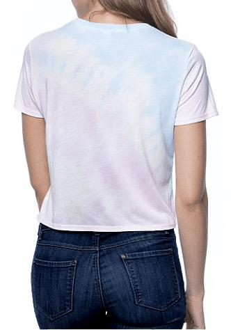 MRANDMRSDANN - MRANDMRSDANN Watercolor Boxy Crop Top - Buy Online