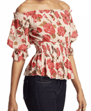 L'Agence - L'Agence Aubriella Off Shoulder Top - Buy Online