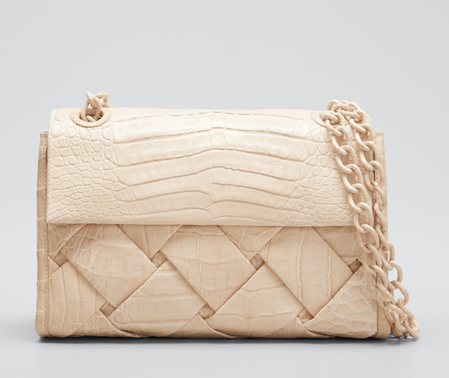 Nancy Gonzalez - Nancy Gonzalez Madison Small Woven Shoulder Bag - Buy Online
