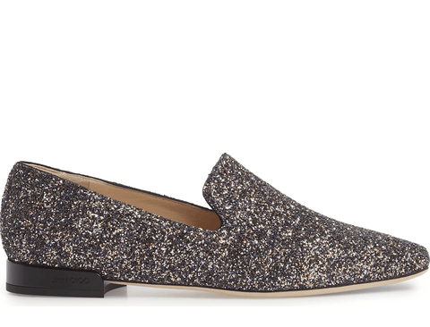Jimmy Choo - Jimmy Choo Jaida Glitter Loafers - Buy Online