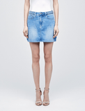 L'Agence Shannon Braided Mini Skirt