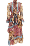 Zimmermann Fiesta Flounce Long Dress