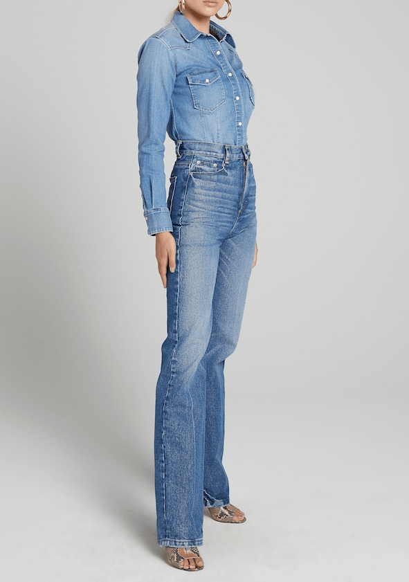 A.L.C. Sullivan Denim Top