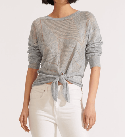 Veronica Beard Elina Crew Neck Sweater
